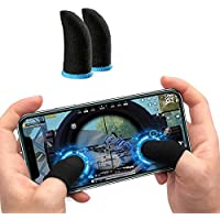CROGIE Call of Duty Mobile Game Finger Sleeve Controller,Touch Screen Finger Sleeve, Breathable Anti-Sweat Sensitive…