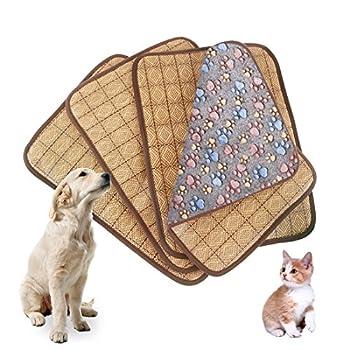 Grand cadeau fournitures pour animaux Tapis de sommeil de refroidissement d'animal de compagnie de double utilisation, coussin de refroidissement de chiot de chats de chien coussin froid Tapis de somm