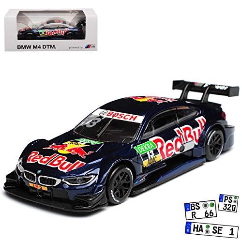 Unbekannt B-M-W 4er M4 DTM 2015 Antonio Felix da Costa Red Bull Nr 13 1/64 Modellcarsonline Modell Auto (Miniatur 1 64)