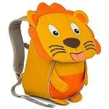 Affenzahn Kinder-Rucksack mit Brustgurt für 1-3 jährige Jungen und Mädchen im Kindergarten Oder Kita der Kleine Freund Lena Löwe - Gelb