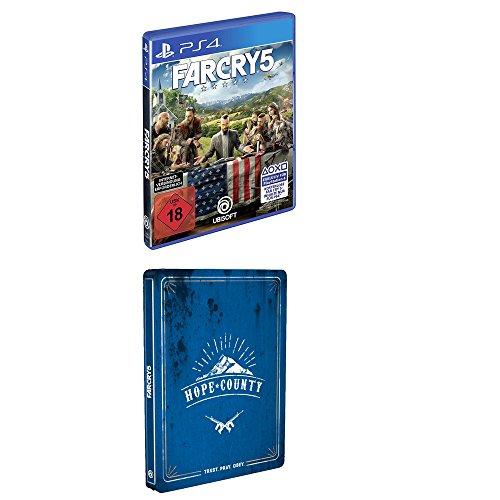 Far Cry 5 - Steelbook Edition - (exkl. bei Amazon.de) - [PlayStation 4]