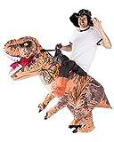 Horror-Shop T-Rex Kostüm zum Aufblasen für Erwachsene