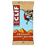 Clif Bar Crunchy Peanut Butter Energie Riegel 68g Power Riegel schnelle Energie für Ausdauersportler, 51000002