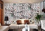 Papier peint photo Vieux journaux Recherche Thème Peinture murale salon hôtel restaurant chambre murale salle de bain bureau papier peint
