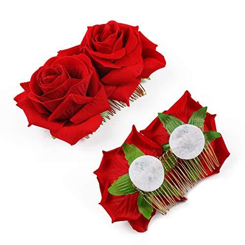 Zoom IMG-2 wbcbec 2 pack rose flower