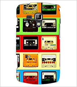 PrintDhaba Casettes D-4537 Back Case Cover for SAMSUNG GALAXY S DUOS S7562 (Multi-Coloured)