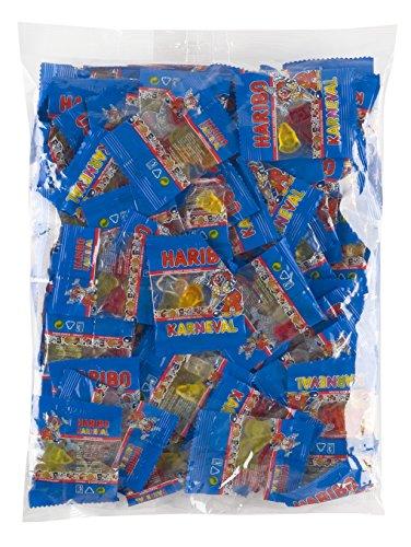 Preisvergleich Produktbild Haribo Karneval Polybeutel Minis,  2er Pack (2 x 800 g)