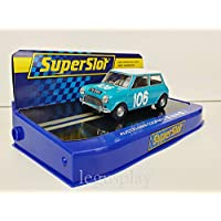 Slot Car Scalextric Superslot H3913 Austin Mini Cooper s Nº106 Targa Florio 1962