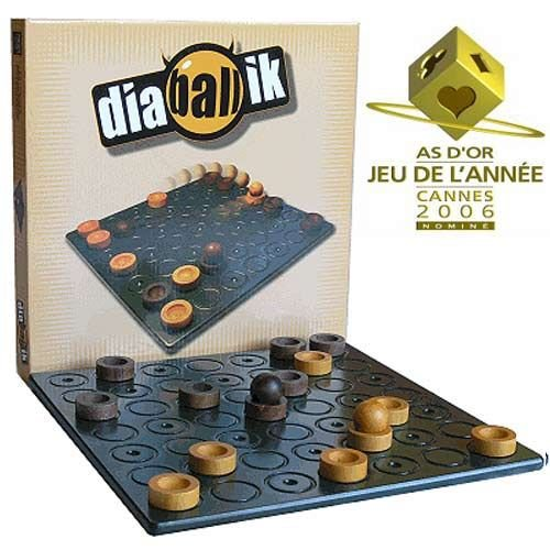 Diaballik - Strategie mit Mannschaftssportcharakter