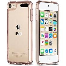 iPod 5 / 6 Carcasa, ULAK iPod Touch 5 / 6 Funda Case CLEAR SLIM Cubierta de la caja Transparente Soft Gel Flexible Thin TPU piel Resistente a los aranazos para Apple iPod Touch 5 / 6 generación (Rosa Oro)