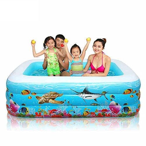 Swimming Pool Große Kinder aufblasbare Schwimmbad Verdickung Baby Badewanne (größe : 305 * 175 * 60cm)