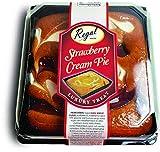 Strawberry Cream Pie Luxury Treat Cake
