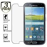 ZEEREE [3 Stück] Galaxy K Zoom C1116 Panzerglas Schutzfolie, Ultra Strapazierfähig Härtegrad 9H Displayschutzfolie für Samsung Galaxy K Zoom C11168/SM-C111/SM-C1158/SM-C1116/SM-C115 (4,8 Zoll)