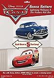 Disney Cars - Riesen - Poster/ Tapete / Folie / Wand - Tattoo als bunte Dekoration - Scene Setter - 2 Figuren Lightning McQueen und Doc Hudson