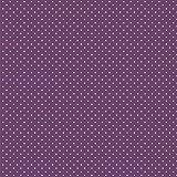 Baumwollstoff Pünktchen Violett Webware Meterware Popeline
