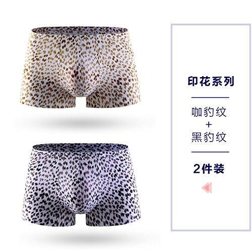 3f2b3a43aa ZHFC-2 slim silk seamless one-piece pants Metrosexual Youth Summer waist underwear  sexy transparent four boxers male head