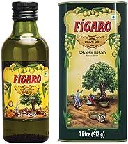 Figaro Extra Virgin Olive Oil, 250ml + Figaro Olive Oil Tin, 1L