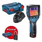 Thermodetektor GTC 400 C in L-BOXX, Bluetooth Padlock LockSmart Mini, L-BOXX