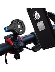Matone Soporte de Móvil Deportiva, Soporte Movil Bicicleta Universal para Bicicleta Motocicleta Apoyo 360 Rotación, Brazo Ajustable Compatible con iPhone, Samgsung, HTC y Dispositivo del GPS