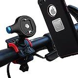 Anti-Rutsch Bicycle Mount Phone Holder 360 Degrees Rotatable, Matone [Ein / Aus-Taste in 1] Magnet Fahrrad Handyhalterung Halter für iPhone 7 Plus / 7 / 6s Plus / 6 & Samsung Galaxy S8 /S7 Edge / S6 Edge Note 3 / Note 4 und GPS-Geräte