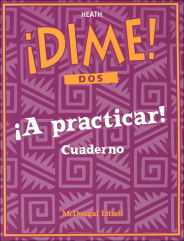 McDougal Littell Dime: Practice Workbook Student's Edition Level 2