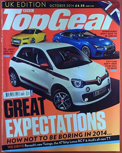 BBC TopGear, UK Edition, October 2014, Lexus RC F -Renault Twingo - Audi TT - LandRover Discovery Sport... (2014 Lexus F Sport)