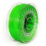 NuNus PETG Filament 1KG - (1.75mm, grün) *Premium Qualität in verschiedenen Farben,geeignet für 3D Drucker,3D Pen, MakerGear Ultimaker uvm