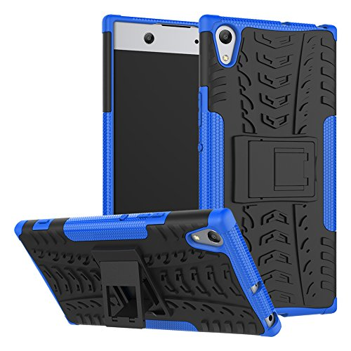 FoneExpert® Sony Xperia XA1 Ultra Handy Tasche, Hülle Abdeckung Cover schutzhülle Tough Strong Rugged Shock Proof Heavy Duty Case Für Sony Xperia XA1 Ultra