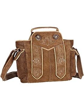 Trachten-Handtasche aus Echtlede