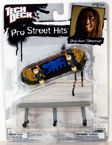 tech-deck-38342-96-mm-fingerboard-pro-street-hits-shuriken-shannon-black-label-fingerboard-con-acces