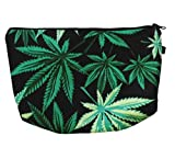 Cannabis Marihuana Hanf Kosmetiktasche Make Up Tasche