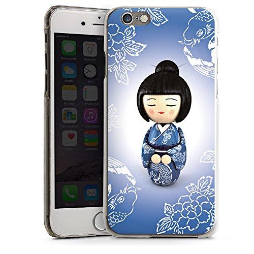 Apple iPhone 5 Housse étui coque protection Koi Kokeshi Poupée Asie CasDur transparent