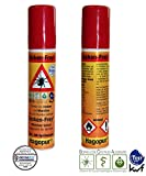 Duo-Pack: 2 x Zecken Frei Spray - Zecken-Frey Spray hilft gegen Zecken Ixodida Milben Stechmücken, Bremsen & ähnlichen Insekten 2 x 25 mL - Vorbeugung von Zeckenbiss - passt in jede Hosentasche Rücksack für Camping Outdoor Freizeit