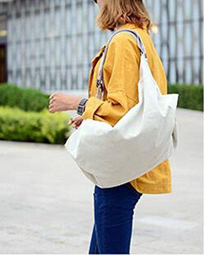 Damen Schultertaschen Multifunktions Rucksack Lässige Rucksäcke Canvas Beige Beige
