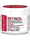 Mincer Pharma retinol Antiarrugas fettige Día Color Crema con Regaliz
