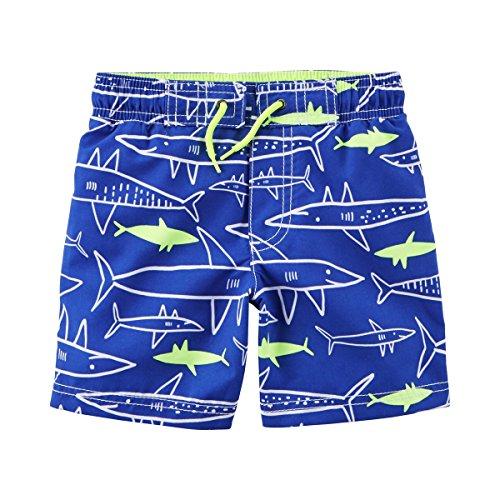CARTER´S Badeshorts Hai mit UV-Schutz blau 68 (Carters Baby-tasche)