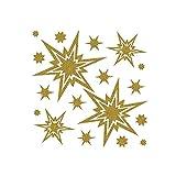 Weihn.Fenst.Bild.goldene Stern