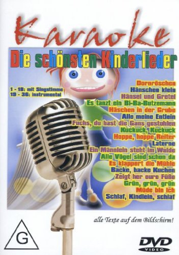 Karaoke Kinder Dvd (Best of Karaoke - Die Schönsten Kinderlieder)