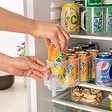 Kühlschrank Aufbewahrungsbox Küche Zubehör Getränkedose platzsparend Dosen Finishing Kühlschrank Organizer