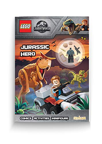 Lego - Jurassic World - Activity Book with Mini Figure
