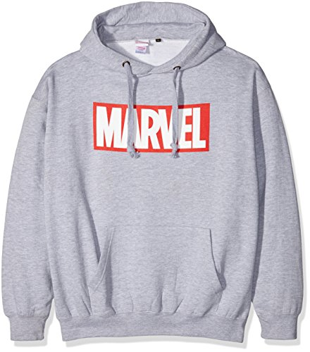 Marvel Men's Core Logo Long Sleeve Hoodie