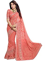 4d3f7f9bb7 Viviki Fashion Saree For Women Party Wear Half Sarees Padmavati Silk Pallu  And Utsav Scut With