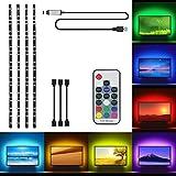 LED Tira USB Para TV, OriFiil 2M Retroiluminación...
