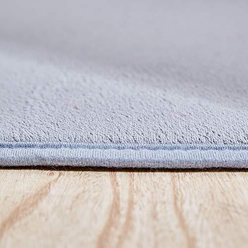 Enkoo Teppich Vintage Traditionelle Santorini Kollektion Korallen Samt Teppich Wohnzimmer Teppich Bett Wasseraufnahme Rutschfeste Fußmatte Tür Sofa Teppich Schlafzimmer Zimmer Tatami Fensterkissen -