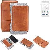 K-S-Trade Belt bag holster for thomson Delight TH201 Sleeve