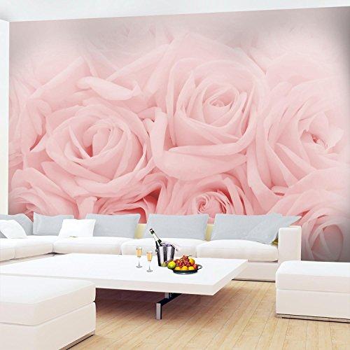 Fototapete Blumen Rosen Rosa Vlies Wand Tapete Wohnzimmer Schlafzimmer Büro  Flur Dekoration Wandbilder XXL Moderne Wanddeko Flower 100% MADE IN ...