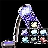 Pommeau douche LED, Pommeau de douche amovible, Haute pression Économisez 30%...
