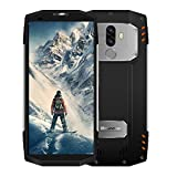 Blackview BV9000 Pro: Robustes Full-HD DUAL SIM Outdoor Smartphone einmaliger 18:9 Full HD 4G Screen Wasser, Staub, Stoßgesichert, 6GB + 128GB, 13+5MP Kamera 4180mAh-Schnelladeakku, Face ID-Silber
