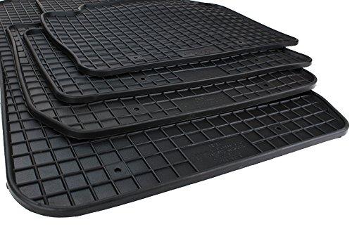 NEU! Gummimatten BMW 3er F30 F31 Touring M Fußmatten Gummi Original Qualität Auto Allwetter Matten schwarz 4-teilig