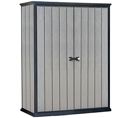 Keter Garden Shed High Store Grey H182, W139.5, D77cm